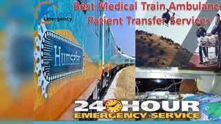 Falcon Train Ambulance in Kolkata – Responsible with ICU Medical Team
