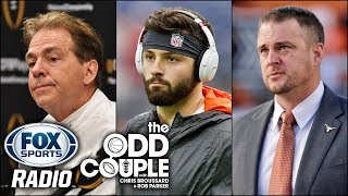 The Hypocrisy of Nick Saban and Can Browns Win BIG With a QB Like Baker Mayfield?