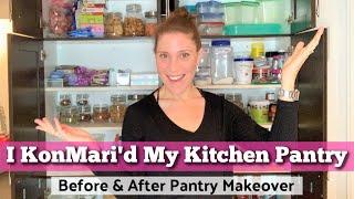 KonMari Method Kitchen Pantry Declutter & Reorganization