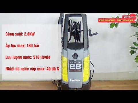 Hướng dẫn lắp đặt và sử dụng máy rửa xe Lavor Vertigo 28