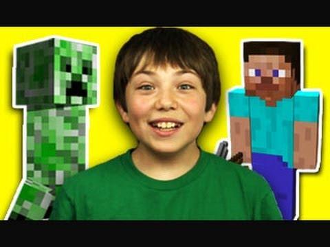 Děti reagují na Minecraft