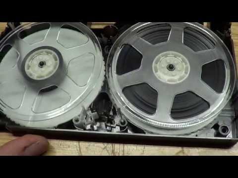 How to fix broken VHS tape