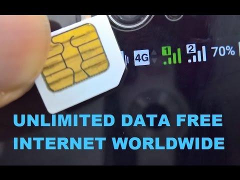 UNLIMITED FREE INTERNET DATA mobile SIM