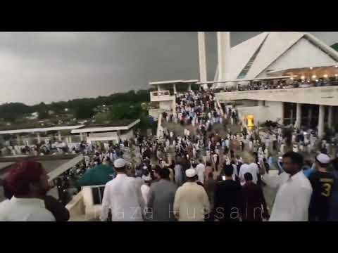 حشود تودع مهندس البرنامج النووي الباكستاني عبد القدير خان
