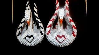 3D Origami  SWAN Tutorial || DIY Paper SWAN