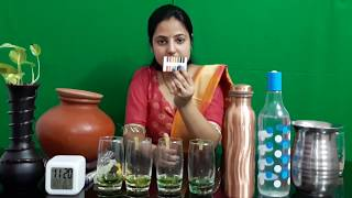 PH value of drinking water || TDS Value of Drinking water || Copper bottle is best for store water