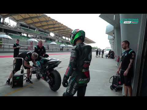 Franco Morbidelli Sepang Test