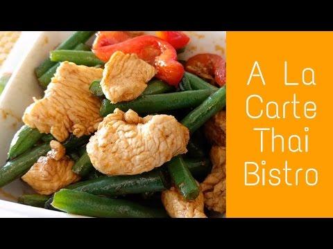 A La Carte Thai Bistro Culver City Prig Khing Lunch Special