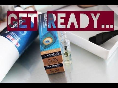 Get Ready...Haare färben