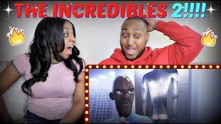 THE INCREDIBLES 2 OFFICIAL TRAILER REACTION!!!