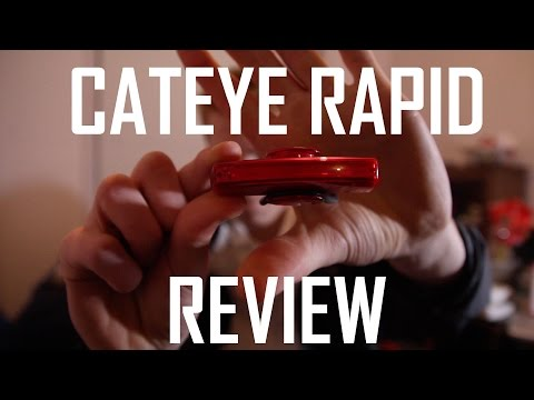 Cateye Rapid Rear Light Review (X LD700)