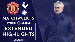 Manchester United v. Tottenham | PREMIER LEAGUE HIGHLIGHTS | 12/04/19 | NBC Sports