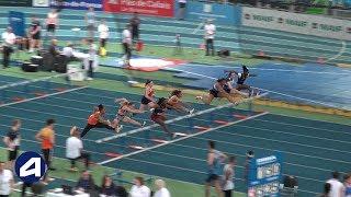 Liévin 2019 : Finale 60 m haies Cadettes (Léa Vendome en 8''43)