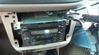 GTA Car Kits - Toyota Sienna 1998-2003 iPod, iPhone, iPad, mp3 and AUX adapter installation