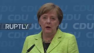 Germany: Merkel praises CDU election victory in Saarland