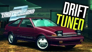 Need for Speed Underground 2 - Tuning A DRIFT Car!