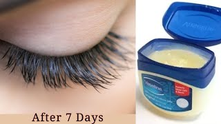 How To Grow Long Eyelashes Fast With Vaseline In 7 Days || Eyelashes Growth With Vaseline