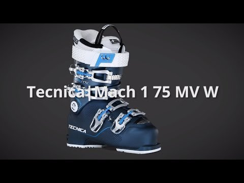 Video: 2019 Tecnica Mach 1 75 MV W Women