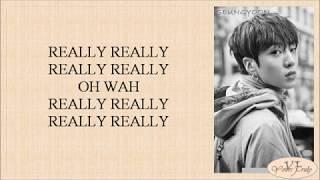 WINNER - REALLY REALLY (Easy Lyrics) - YouTube
