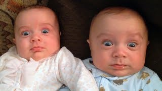 FUNNIEST Twin Babies just never fail to make us laugh - Cutest twin babies ever