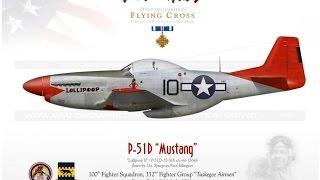 Fliegende Helden des zweiten Weltkriegs!!! Teil 4: Tuskegee Airmen/Red Tails the 332nd Fighter Group
