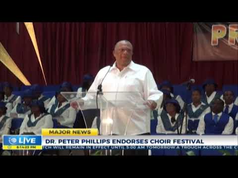 Dr. Peter Phillips endorses Choir Festival