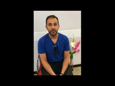 ابراهيم من السعودية يتكلم عن تجربته | مشفى إست كير | زراعة الشعر