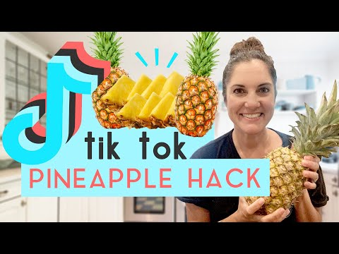 Does the TikTok Pineapple Hack Actually Work?   We Tried It + Best Pineapple Recipes