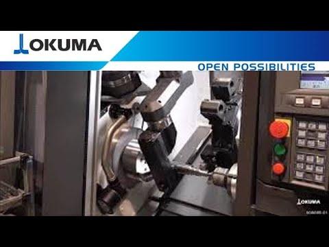 Lathe LB3000 EXII ARMROID - Robot Inside the Machine