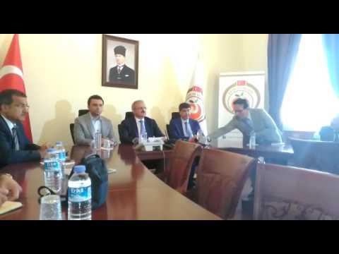 15 Temmuz'un 1'inci yıl dönümü nedeni ile Antalya'da toplantı yapıldı