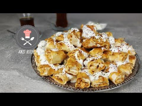 Hähnchen Börek | Knuspriges Fingerfood | Iftar Rezept | Ramadan | Kikis Kitchen