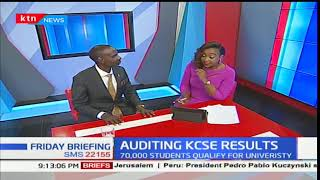 Wilson Sossion speaks on the recently released KCSE results