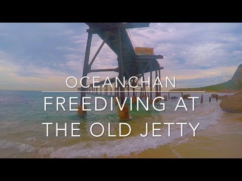 Freediving at the old jetty | Catherine Hill Bay | OceanChan
