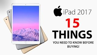 NEW iPad 9.7 (2017) - 15 THINGS You Didn't Know!