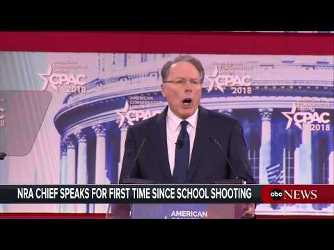 NRA CEO LaPierre addresses CPAC conference   ABC News