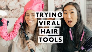 Trying Viral Hair Tools | Luxy Hair