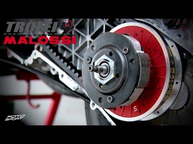 Kit revisione puleggia fissa posteriore modello furia Rossa Malossi fixed pulley e correttori normali per scooter Piaggio e Minarelli, ricambio 2011754