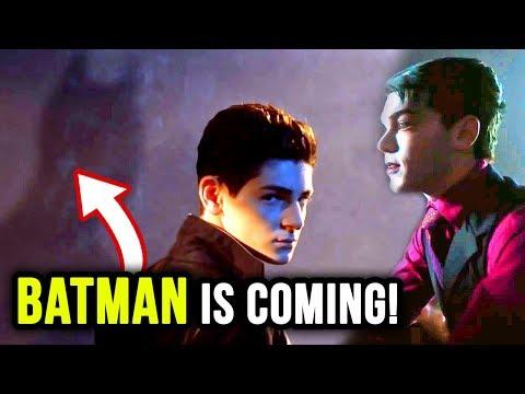 BATMAN and MORE Teased in Gotham Season 5 Trailer!