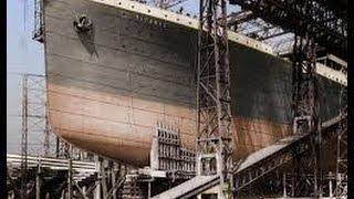 Титаник церемония спуска на воду HD
