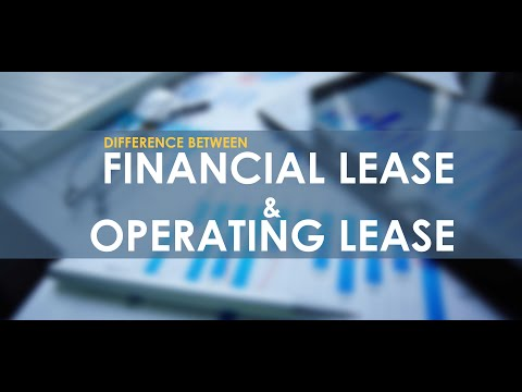 mp4 Finance Lease And Operating Lease, download Finance Lease And Operating Lease video klip Finance Lease And Operating Lease