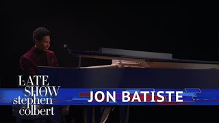 "Jon Batiste Performs ""Winter Wonderland"""