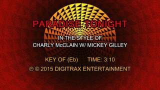 Charly McClain w/ Mickey Gilley - Paradise Tonight (Backing Track)