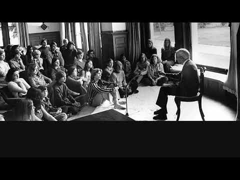 Audio | J. Krishnamurti – Brockwood Park 1969 - School Disc. 1 - Freedom, peace and compassion