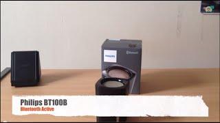 #Test Speaker Philips BT100 Bluetooth Active