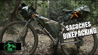 SACOCHES BIKEPACKING ORTLIEB: CINTRE, CADRE, SELLE
