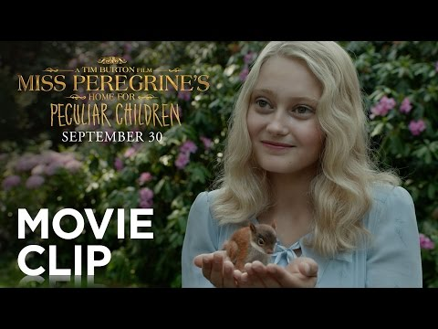 New Movie Clip for Miss Peregrine's Home for Peculiar Children