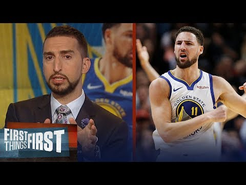Klay Thompson was not snubbed from the All-NBA team - Nick Wright | NBA | FIRST THINGS FIRST