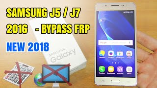 Samsung J510FN v7 1 1 FRP UNLOCK without BOX New Method