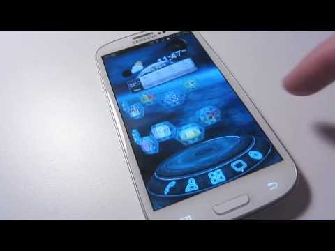 Next Technology Theme 3D LWP wideo