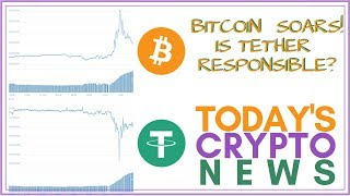 Bitcoin SOARS! Is Tether (USDT) Responsible?? - Today